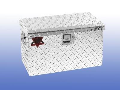 24u2033l x 12u2033h aluminum tote truck atv trailer tool box