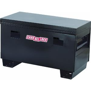 Blue Powder Coated Steel Site Safe Tool Box Better Built 37211296 Site Safe Tool Box L 48 in x H 25 in x W 24 in
